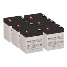 Apc SRT2200RMXLA-NC Ups Replacement Battery Set By SigmasTek- 12v 5.5AH - $81.57