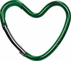 Dooky Buggy Stroller Hook - Aluminium Alloy Carabiner Hook - Heart Shaped Design
