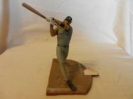 2002 Jason Giambi New York Yankees #25 Figurine Batting Road Gray - $22.28