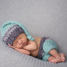 T photo props newborn baby girls boys crochet knit costume photo photography prop pants thumb200