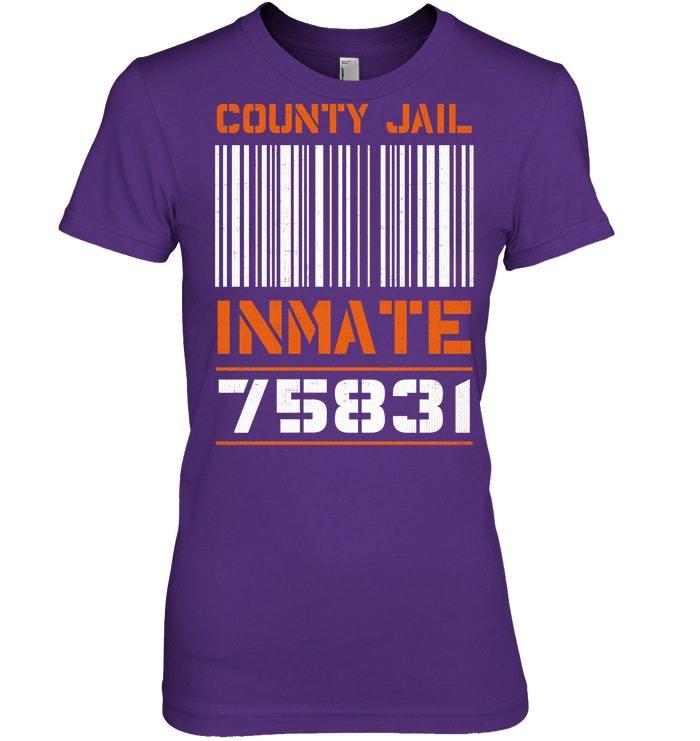 Funny Jail Halloween Costume Tshirt