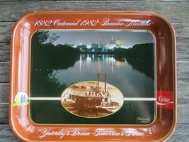 Coca-Cola Commemorative Tray 1982 Brandon Manitoba Centennial - $9.90