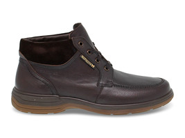 Low boot Mephisto DARWIN M in brown leather - Men's Shoes - €188,21 EUR