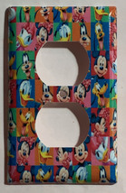 Mickey Mouse friends characters Light Switch Outlet wall Cover Plate Home decor image 2