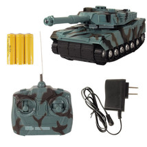 Rc Tank Radio Control Radio Controlled Tanks Rc Remote Control Tank Toy ... - $26.14