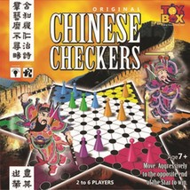 Original Chinese Checkers Game  2-6 Players Age 7+ Toys Box  Indoor - $20.32