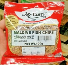 McCurrie MALDIVE FISH CHIPS Ceylon 100g,200g,400g Registered Post Tracking - $9.16+