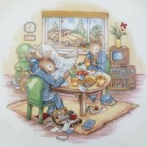 "Vintage Royal Doulton Bunnykins Childrens 8"" Plate Briefcase Yuppie Work... - $9.89"