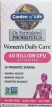 Garden of Life Women's Probiotics Daily Care  40 Billion CFU 30 Capsules  - $19.99