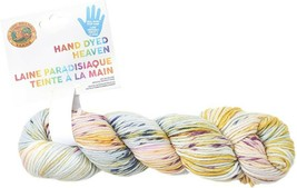Lion Brand Hand Dyed Heaven Yarn in Cabbage Patch
