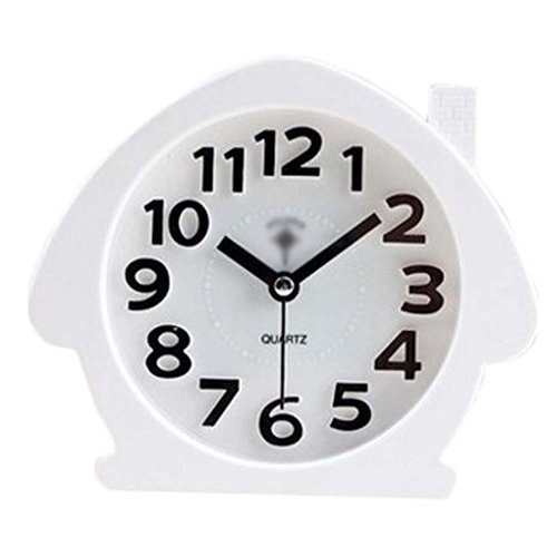 George Jimmy Cute Student Alarm Clock Stylish Silent Bedside Alarm Clock #15 - $22.50