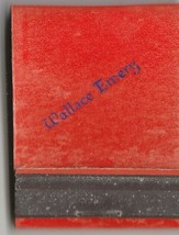 Vtg Strike on Matchbook ~ Wallace Emory - $7.91
