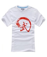 1 Pcs Summer Style Chinese Kung Fu T-shirts Cotton(Beige L) - $25.07