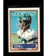 1983 TOPPS #344 BOBBY JONES VG+ NY JETS  - $0.99