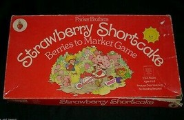 Vintage 1979 Strawberry Shortcake Berries To Market Board Game 100% Complete Toy - $21.04