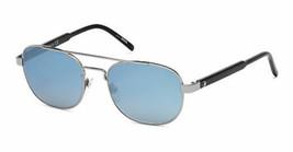 Neu Montblanc Sonnenbrille MB602S 01A Gusszinnbronze / Hell Gespiegelt B... - $178.18