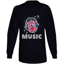 Monster Music Head Phones Long Sleeve T Shirt image 2