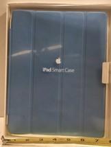 Genuine OEM Apple iPad 2/3/4th Gen Smart Cover Baby Blue Magnetic Hinge - $39.55