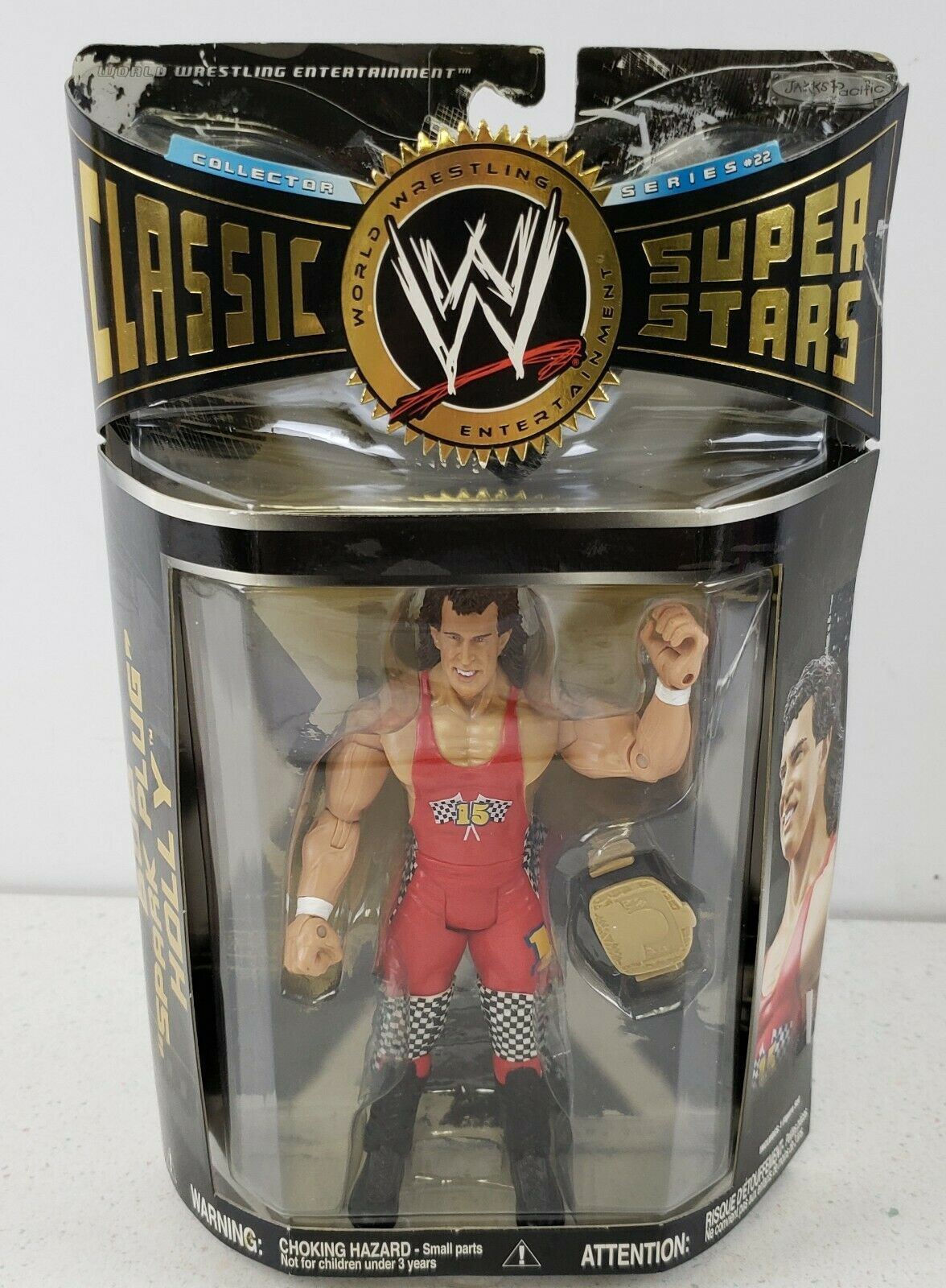 "Primary image for Bob ""Spark Plug"" Holly  WWE Jakks 2008 Classic Superstars #22 Collector Series"