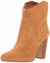 Vince Camuto Creestal Suede Ankle Boots Creamy Car, Size 6 M - £37.78 GBP