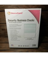 Docugard 04502 Security Business Checks Marble Top Green 500 Sheets - $10.00