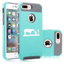 For Apple iPhone Protective Shockproof Hard Case Cowgirl Praying Cross H... - £12.40 GBP