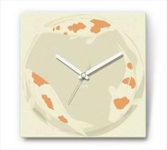 Sengoku Design Fabric Wall clock Interior Koi - $99.99