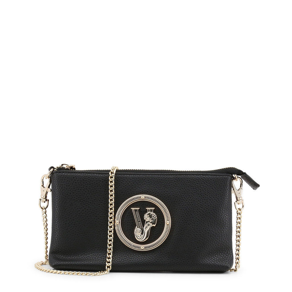 6a0e82a577 Versace Jeans Womens Black Clutch with gold chain and logo -  98.01 ·  Advanced search for Versace Jeans Couture Handbag