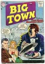 BIG TOWN #47 1957-DC COMICS-TV SERIES-WAITER WITH GUN G/VG - $31.53