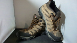 MERRELL - Men's Earth Brown Waterproof Hiking Boots w/Vibram Soles - SIZ... - $48.95
