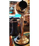 Western Electric Brass Candlestick Telephone Operational 1905 - $395.00