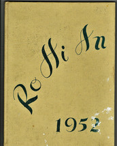 1952 Rogue River High School Year Book, Ro Hi An, Rogue River, Oregon - $38.61