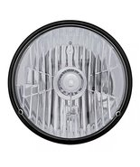 """United Pacific 31387 7"""" Crystal Round Headlight Bulb - H4 - $45.68"""