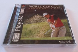 World Cup Golf: Professional Edition (Sony PlayStation 1, 1995) - $5.93