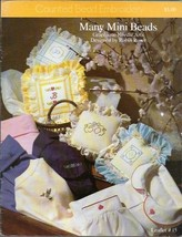 Many Mini Beads Leaflet 15 Graphique Needle Arts Counted Bead Embroidery... - $2.96