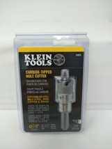 "Klein Tools Carbide-Tipped Hole Cutter 7/8"" for 1/2"" Fittings 31875, #8757 - $23.46"