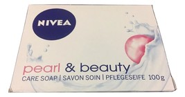 Nivea Bar Soap Pearl & Beauty Size 3.57 OZ 6 PACK - $29.69