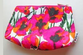 Vera Neumann Cosmetic Bag Poppies Ladybug Toiletries Travel MINT Unused ... - $11.38