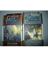 A Game of Thrones chapter pack lot of 2 epic battles the battle blackwat... - $10.98