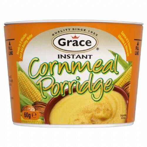 Primary image for Grace Jamaica Instant Cornmeal Porridge 60g X 12