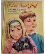 Tell Me About God by Mary Alice Jones Dorothy Grider 1967 First Printing - $9.89