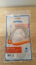 Manhattan USB Cable 2.0 AM-Af Trans 6ft 1.8m New Electronic Connector Computer - $3.95