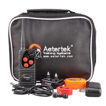 AETERTEK WATERPROOF 550M/600 Yard Remote Dog Shock Training Collar Recha... - $58.75