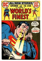 WORLDS FINEST #213 comic book 1972 DC Atom Superman - $22.70
