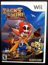 Zack and Wiki Quest for Barbaros Treasure Wii Case Game Disc Manual CIB - $9.98