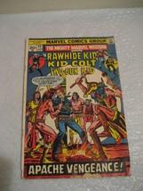 the rawhide kid kid colt two-gun kid, apache vengeance #22 vg cond 1963 - $29.99