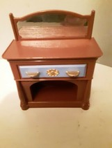 Fisher-Price Loving Family Dollhouse 2005 Dining Room Buffet Table Sideboard - $7.87