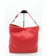 NWT Tory Burch Red Duet Leather Hobo Shoulder Bag Purse New  ($450) - $275.00