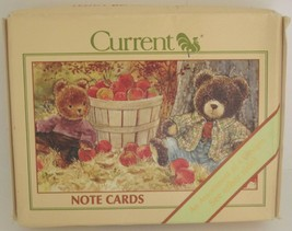 Bears in 4 Seasons Stationery 12 Note Cards with Envelopes - $17.63