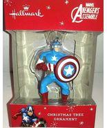 Hallmark Ornament Marvel Avengers Captain America  Collectible! Free USA... - $12.00